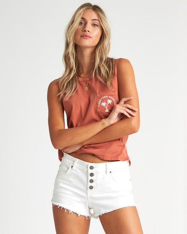 Buttoned Up Short
