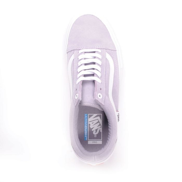 Old Skool Pro (Lilac Gray/True White)