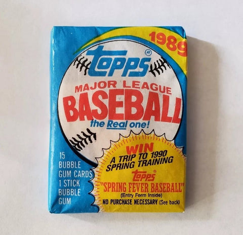 1989 Topps Wax Pack