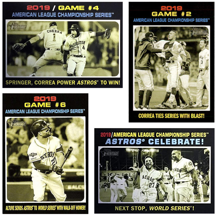 2020 Topps Heritage Astros
