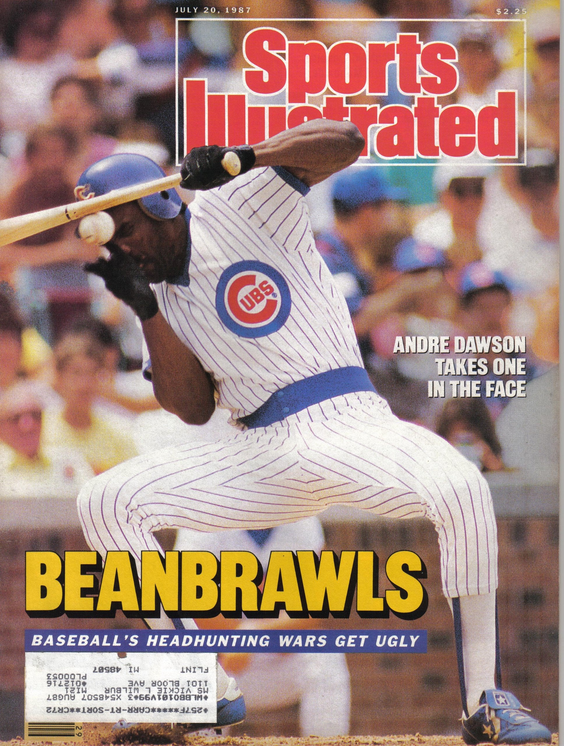 Andre Dawson Sports Illustrated Cover