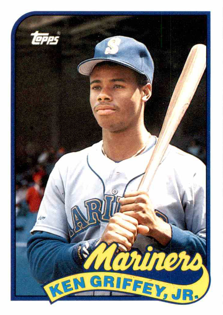 Ken Griffey Jr 1989 Topps Traded