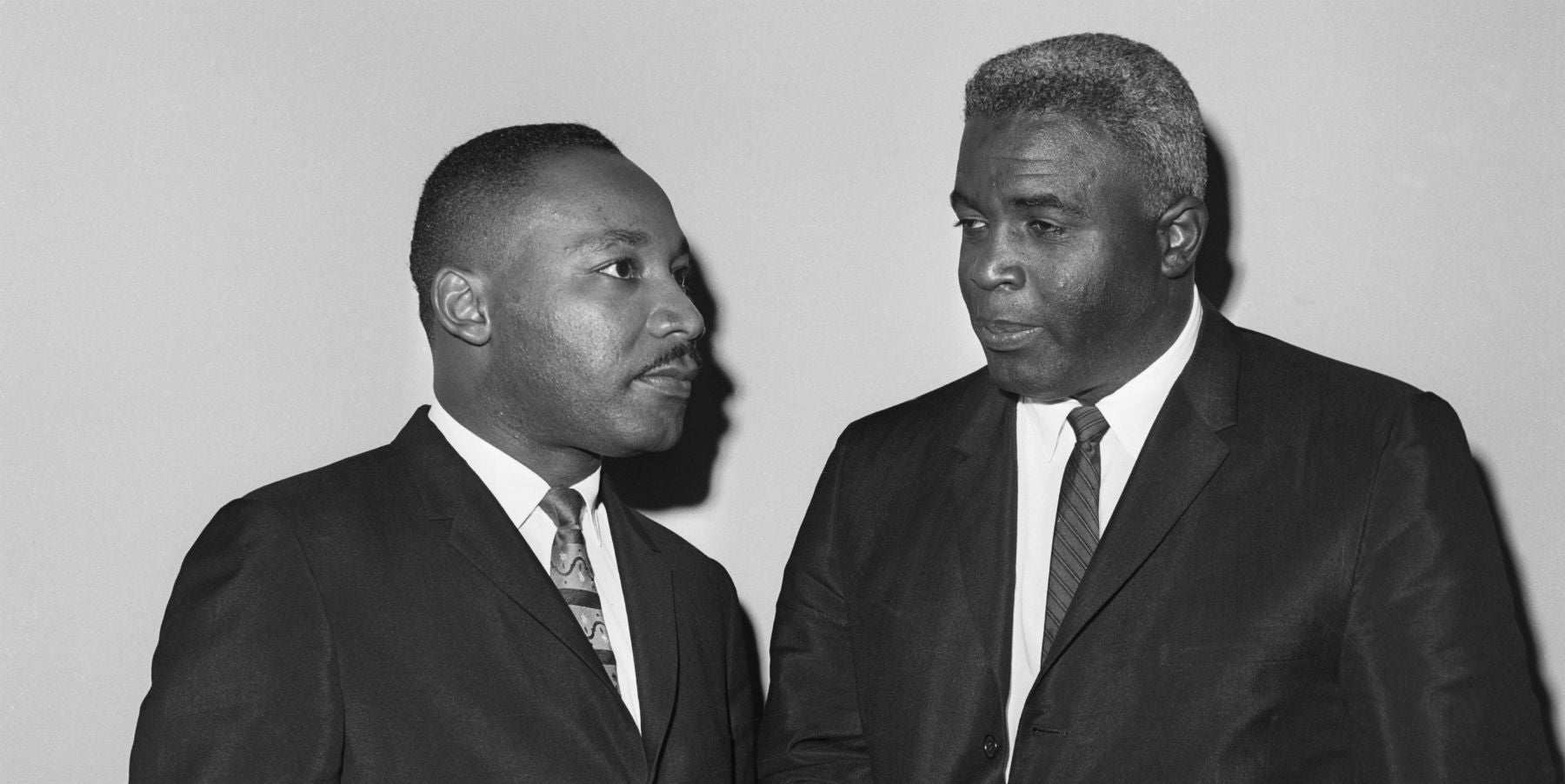 Jackie Robinson and Martin Luther King