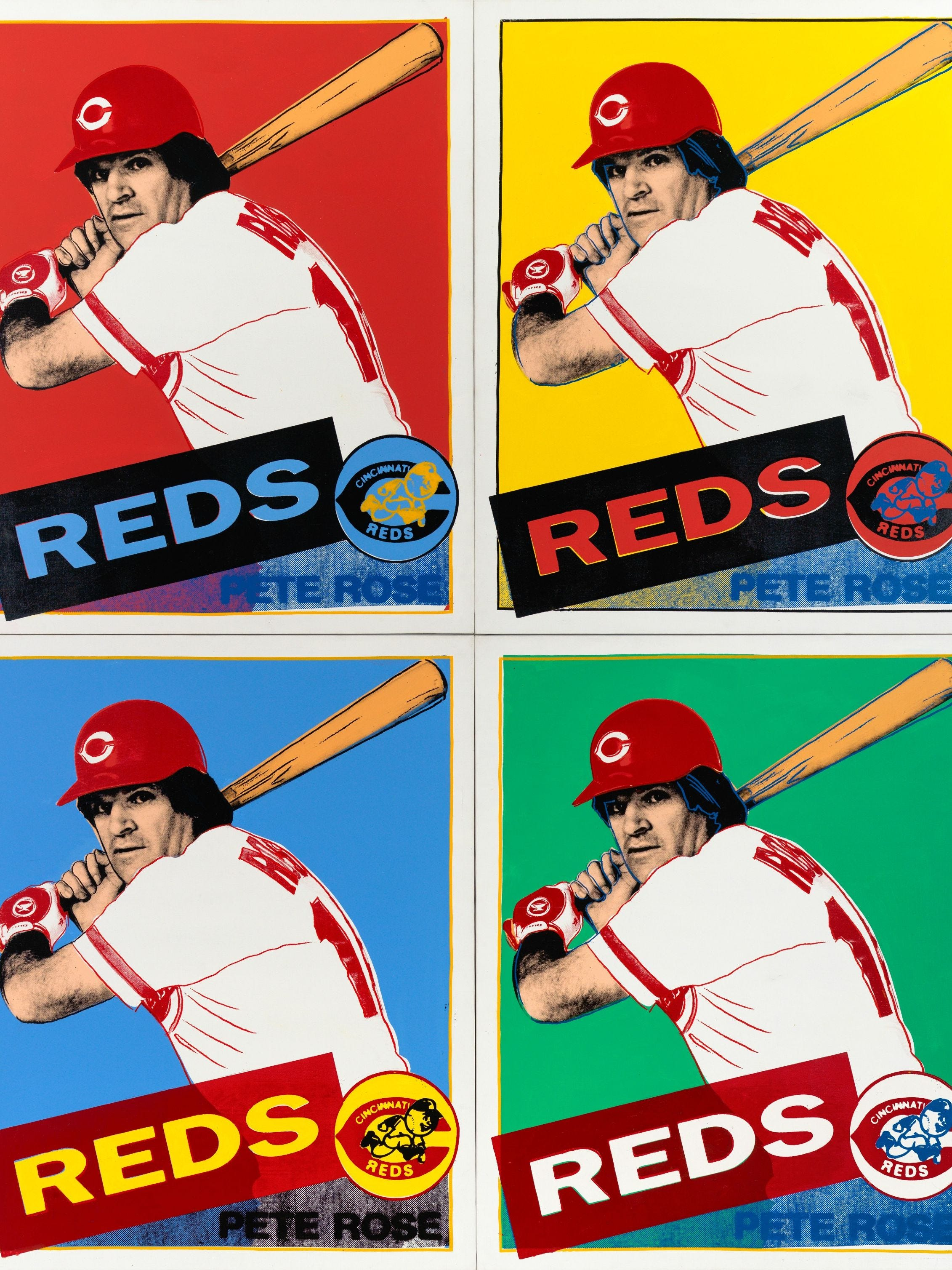 Pete Rose Andy Warhol 360B