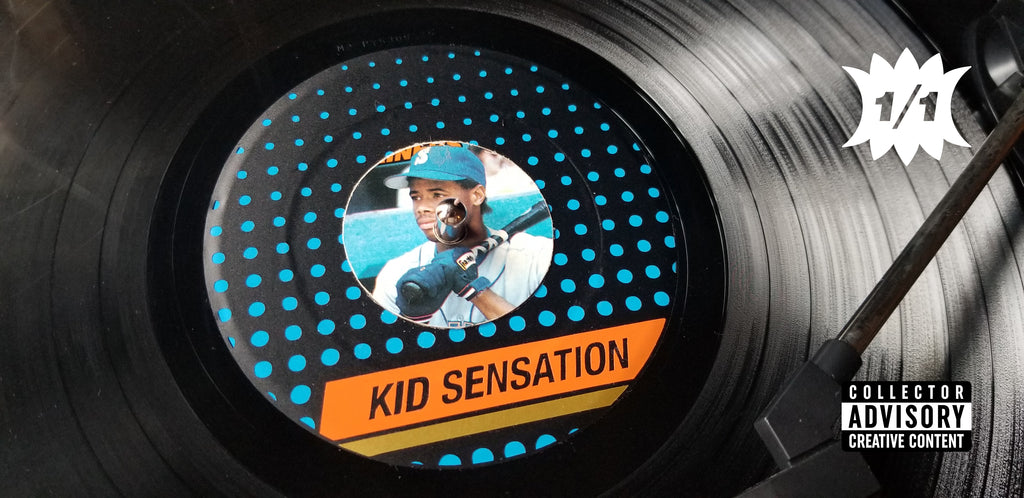 Junk Wax Records by Matthew Lee Rosen - Ken Griffey Jr. Kid Sensation
