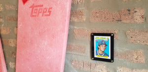 Baseball card art by Matthew Lee Rosen (aka Matthew Rosen) - 1989 Topps All-Star (Giant Gum Stick)