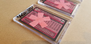 Baseball card art by Matthew Lee Rosen (aka Matthew Rosen) - Gum Stick Collector Cards - 1989 Topps (Asterisks)