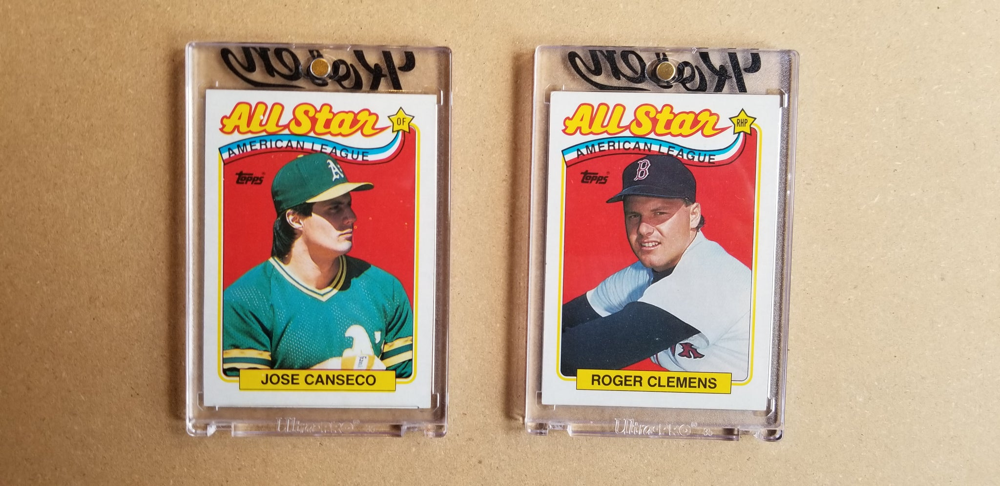 Baseball card art by Matthew Lee Rosen (aka Matthew Rosen) - Gum Stick Collector Cards - 1989 Topps (All Stars)