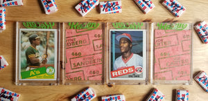 Baseball card art by Matthew Rosen - 1985 Topps