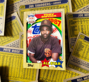 "Tony Gwynn ""One Four the Books"" 3-D 1/1 Card Booklet"