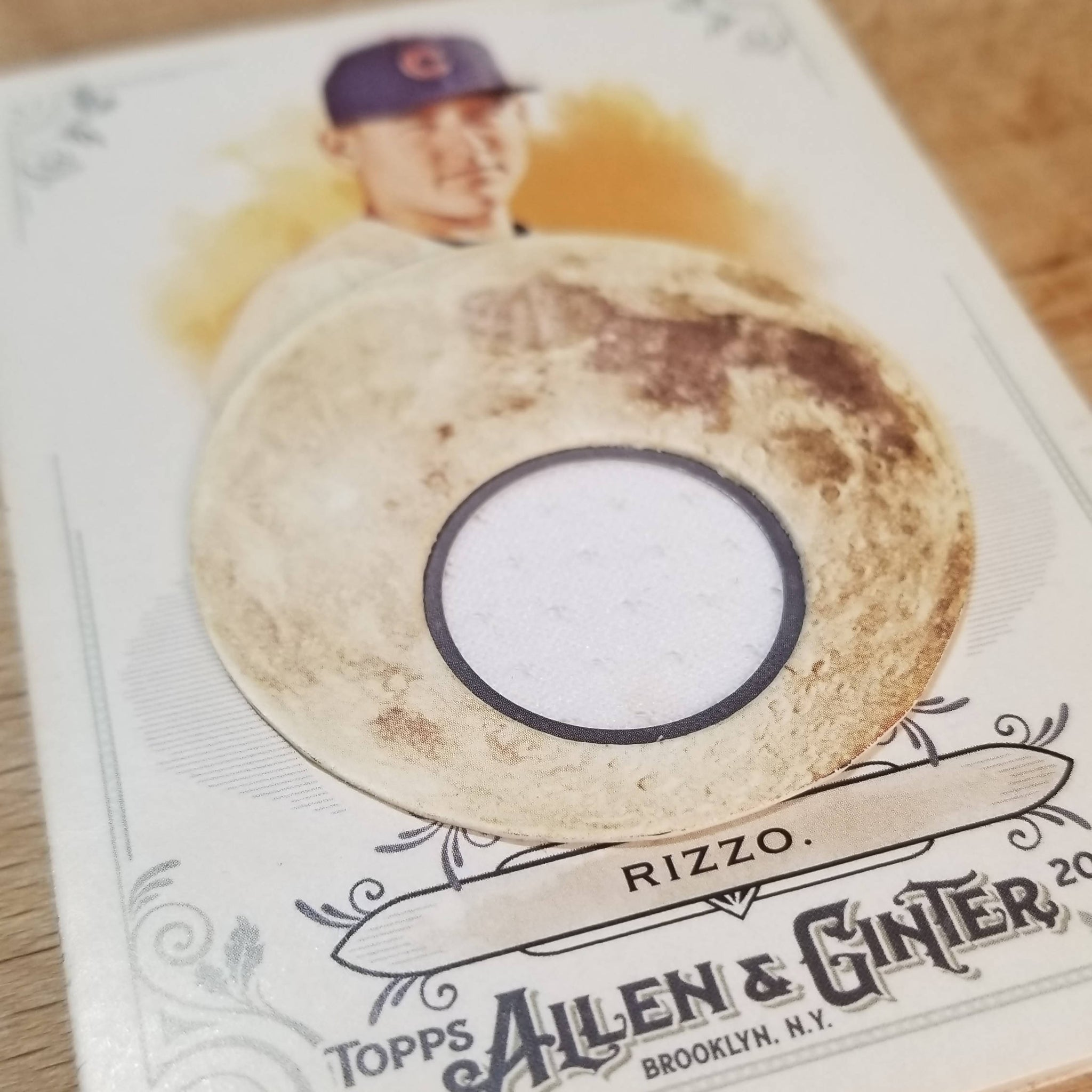 Anthony Rizzo - 2-Sided Magnificent Moons Relic Card
