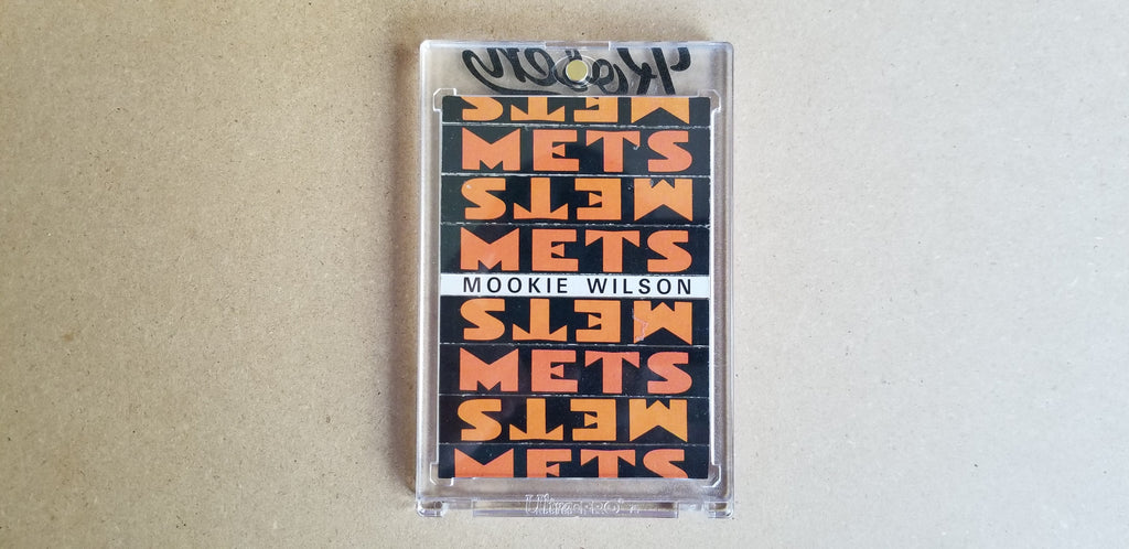 Baseball card art by Matthew Lee Rosen (aka Matthew Rosen) - 1986 New York Mets