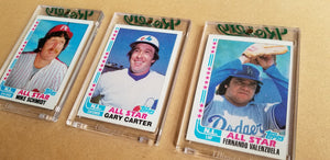Baseball card art by Matthew Lee Rosen (aka Matthew Rosen) - 1982 Topps All Stars