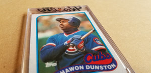 Baseball card art by Matthew Lee Rosen (aka Matthew Rosen) - Gum Stick Collector Cards - Shawon-O-Meter