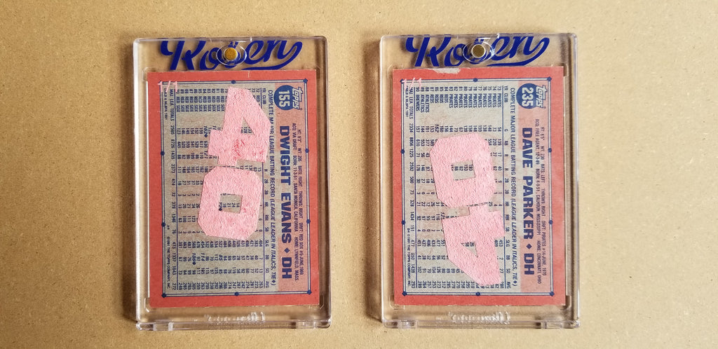 Baseball card art by Matthew Lee Rosen (aka Matthew Rosen) - Gum Stick Collector Cards - 1991 Topps