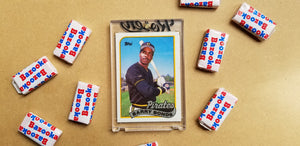 Baseball card art by Matthew Lee Rosen (aka Matthew Rosen) - Bonds Asterisk (Black Ecko)