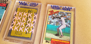 Baseball card art by Matthew Lee Rosen (aka Matthew Rosen) - Clemens 20K