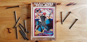 Baseball card art by Matthew Lee Rosen (aka Matthew Rosen) - Treasure Box Break #2