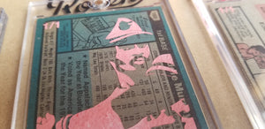 Baseball card art by Matthew Lee Rosen (aka Matthew Rosen) - Eddie Murray Rookie