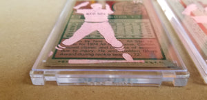 Baseball card art by Matthew Lee Rosen (aka Matthew Rosen) - Carlton Fisk Game 6 Home Run