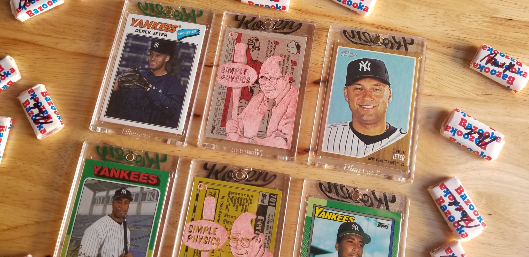 Baseball card art by Matthew Lee Rosen (aka Matthew Rosen) - George Costanza Yankees