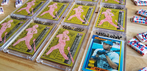 Baseball card art by Matthew Rosen - Ken Griffey Jr Silo
