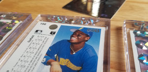 Baseball card art by Matthew Rosen - Ken Griffey Jr. Upper Deck