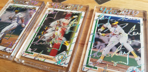 Baseball card art by Matthew Lee Rosen (aka Matthew Rosen) - Treasure Box Break #4