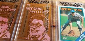 Baseball card art by Matthew Lee Rosen (aka Matthew Rosen) - Keith Hernandez Seinfeld