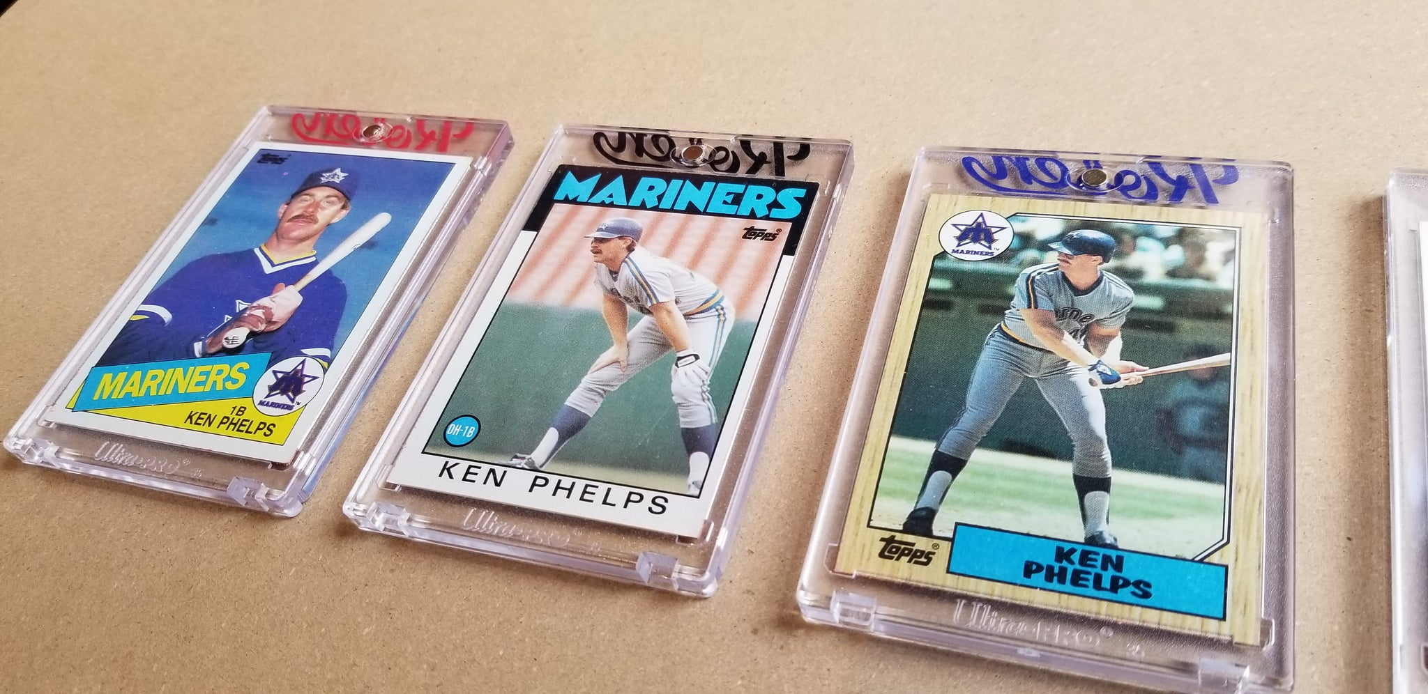 Baseball card art by Matthew Lee Rosen (aka Matthew Rosen) - Gum Stick Collector Cards - Ken Phelps (Seinfeld)