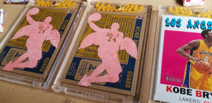 Baseball card art by Matthew Lee Rosen (aka Matthew Rosen) - Kobe Angel