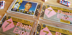 Baseball card art by Matthew Lee Rosen (aka Matthew Rosen) - Nolan Ryan Express