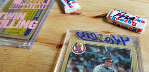 Baseball card art by Matthew Lee Rosen (aka Matthew Rosen) - Sports Illustrated Covers