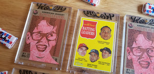 Baseball card art by Matthew Lee Rosen (aka Matthew Rosen) - Squints Palledorous