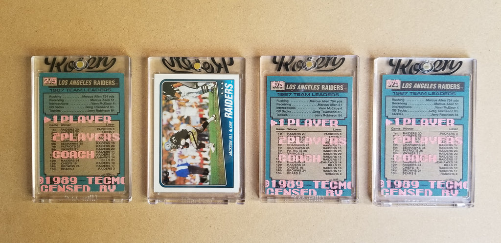 Baseball card art by Matthew Lee Rosen (aka Matthew Rosen) -  Tecmo Bo