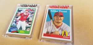 Baseball card art by Matthew Lee Rosen (aka Matthew Rosen) - Mike Trout