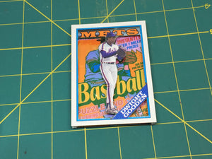 Baseball card art by Matthew Lee Rosen (aka Matthew Rosen) - 3D Gooden