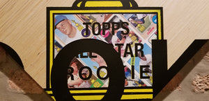Baseball card art by Matthew Lee Rosen (aka Matthew Rosen) - Topps All-Star Rookie
