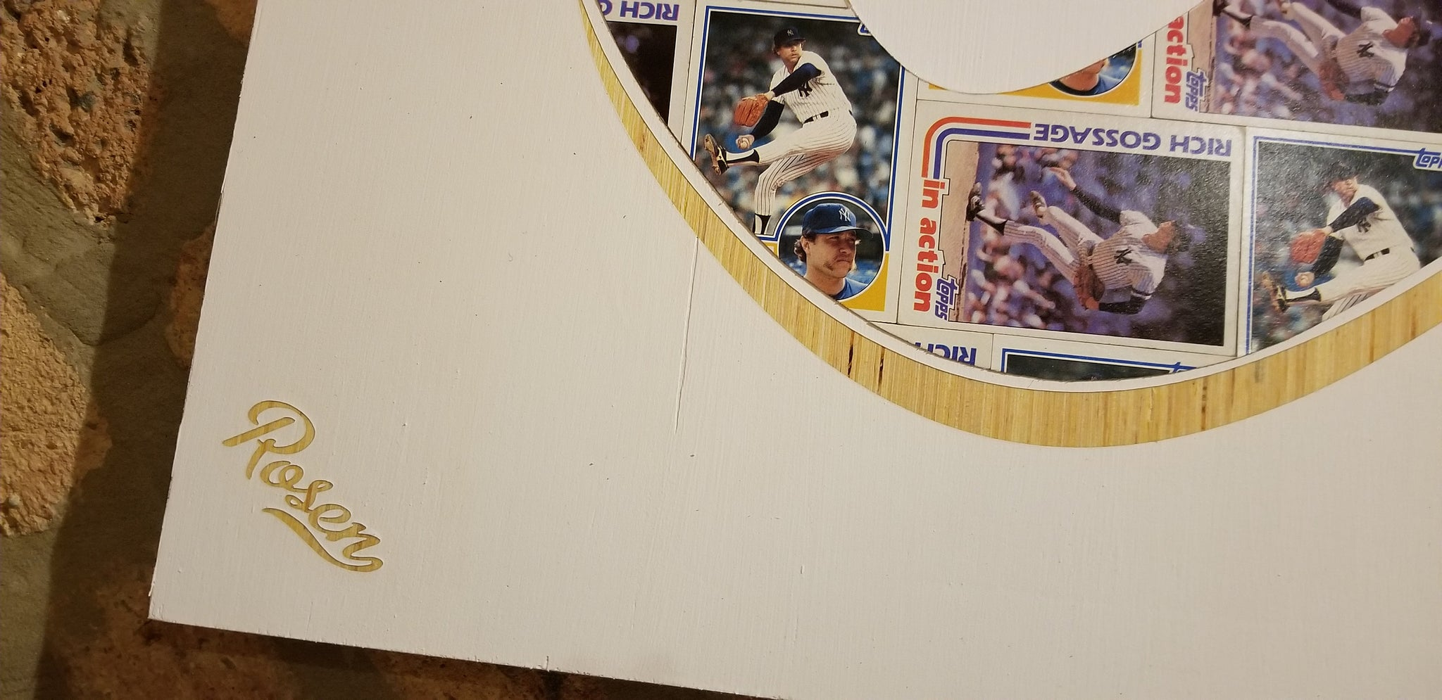 Baseball card art by Matthew Lee Rosen (aka Matthew Rosen) - Goose Egg (Rich Gossage)