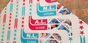 1982 Topps All-Stars - Baseball card art by Matthew Lee Rosen
