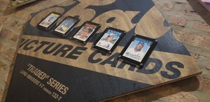 Baseball card art by Matthew Lee Rosen (aka Matthew Rosen) - 1986 Topps Traded Set (Card Display)