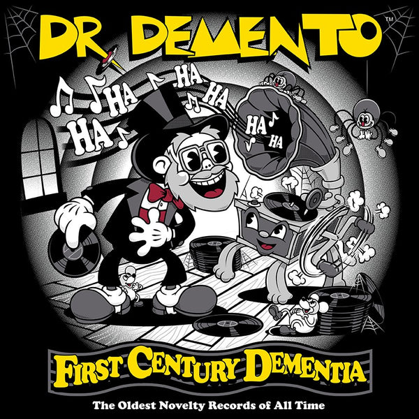Autographed Dr. Demento First Century Dementia CD
