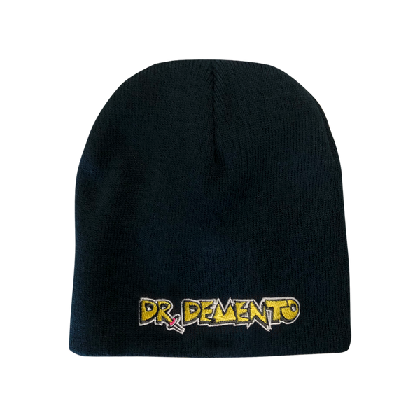 Dr.Demento Embroidered Logo Beanie