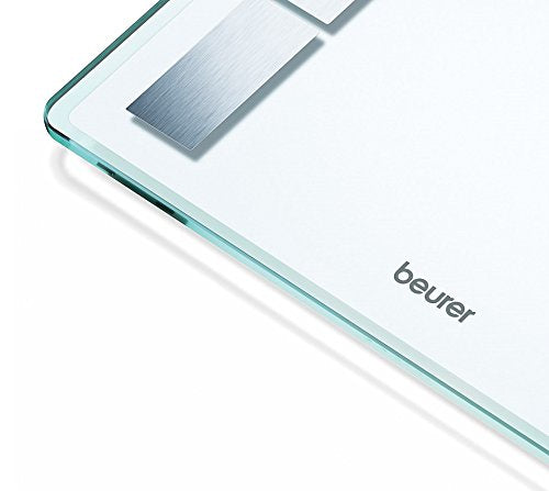 Beurer Glass Body Bathrooom Diagnostic Scale, BF525