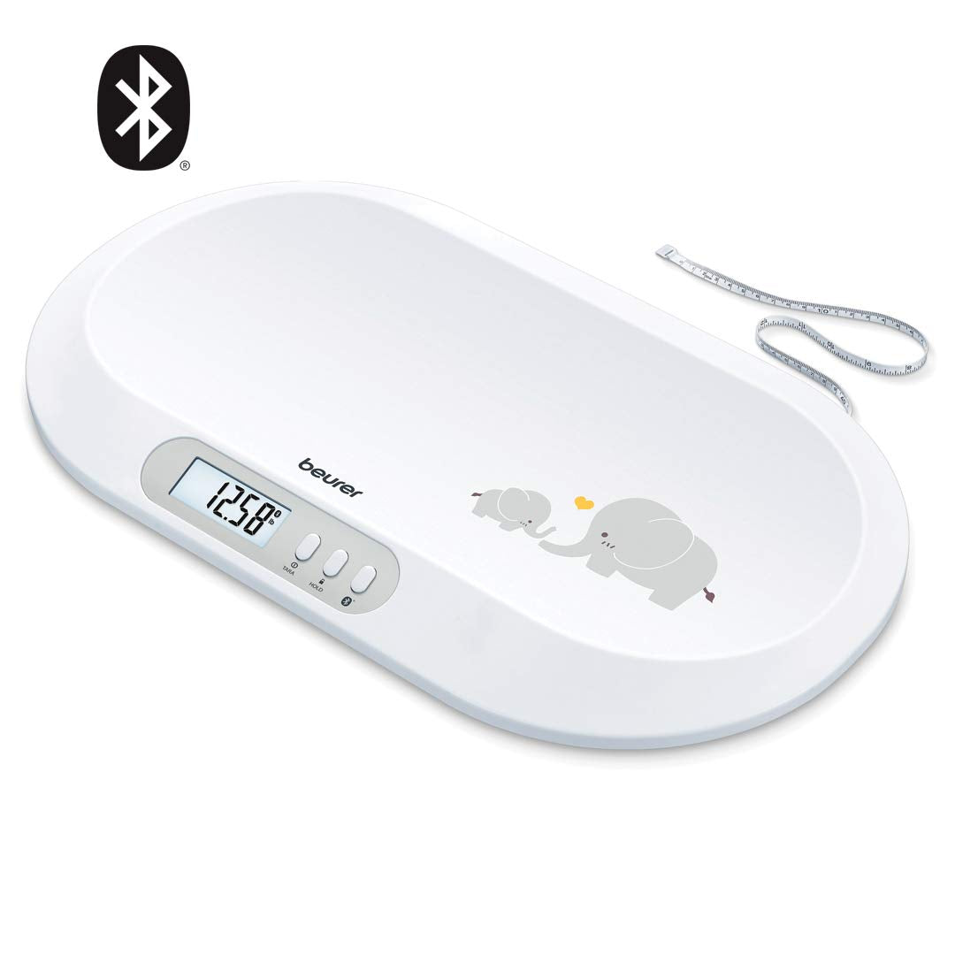 Beurer Bluetooth Digital Baby & Pet Scale,  BY90
