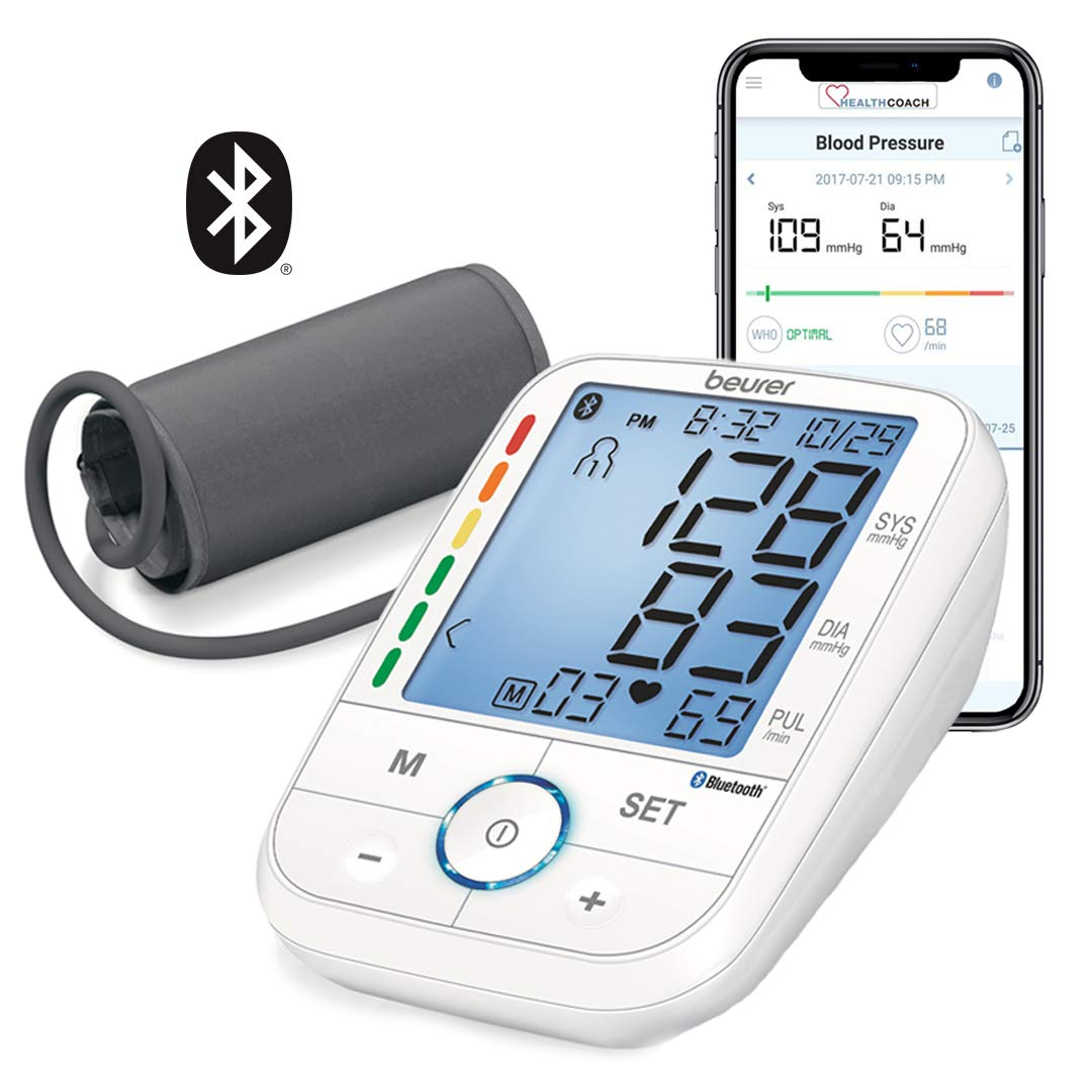 Beurer Upper Arm Blood Pressure Monitor with Cuff, BM67