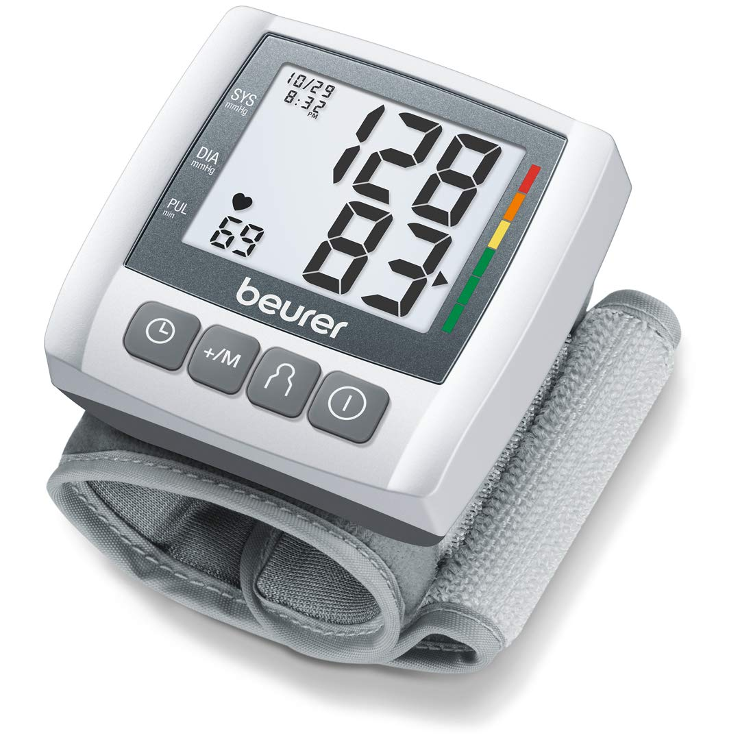 Beurer Automatic & Digital Wrist Blood Pressure Monitor, BC30