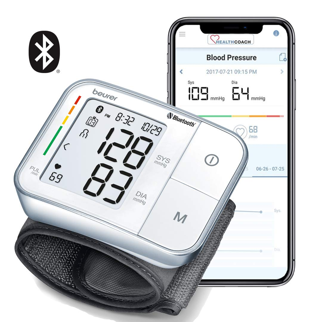 Beurer Automatic Wrist Blood Pressure Monitor, BC57