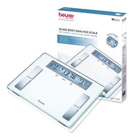 Beurer Body Analyzer Scale with Illuminated Display, BF520