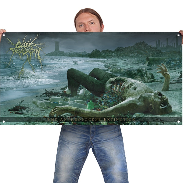 Cattle Decapitation - Anthropocene Extinction - Wall Flag